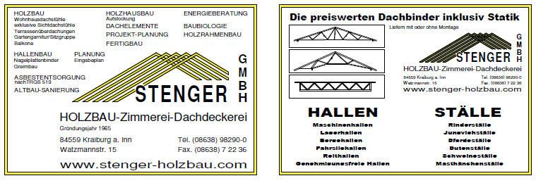 Stenger Holzbau neue seite 1